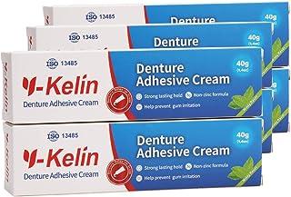 Y-Kelin Crema adhesiva para dentaduras postizas 40gr /1.4oz (6 PACK)