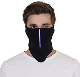 Biker-1 Mask, Half Face Bike Riding Mask,Dust Protection Mask, Anti-Pollution Safety Mask, Windproof mask with Hook and Look Closure