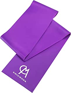 CHICMODA Resistance Exercise Bands 3 Pack,Latex Elastic Workout Band with 3 Resistance Levels for Women and Man,Ideal for ...