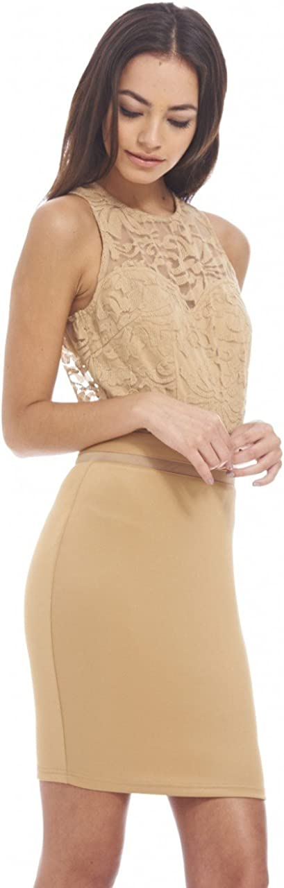 AX Paris Women's Textured Bodycon Dress