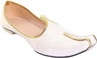 BombayFlow Abraham Punjabi Jutti Sherwani Indian Dress Shoes Wedding Khussa Mojari Footwear