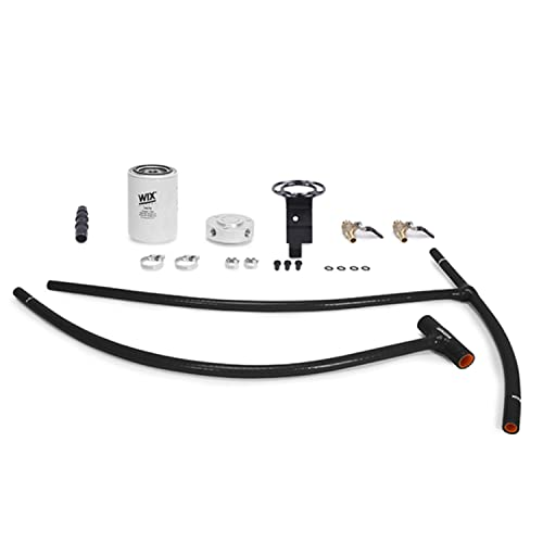 Mishimoto 03-07 Ford 6.0L Powerstroke Engine Coolant Filter Kit, Black