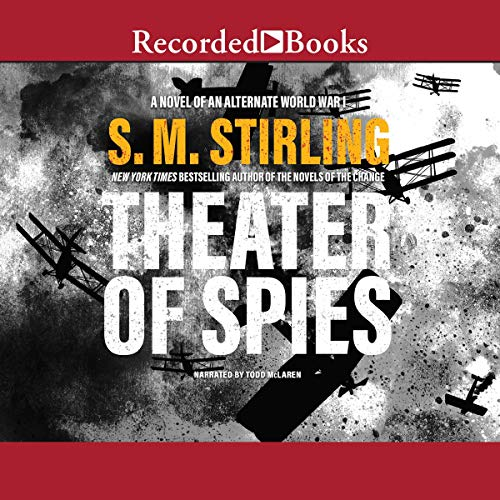 Theater of Spies audiobook cover art