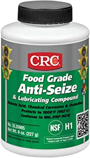 Sta-Lube SL35905 Food Grade Opaque Off-White Semi-Solid Anti-Seize & Lubricating Compound, 8 oz. Weight