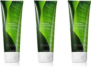 Bath and Body Works Rainkissed Leaves Triple Moisture Body Cream, 8 oz (3 Pack)