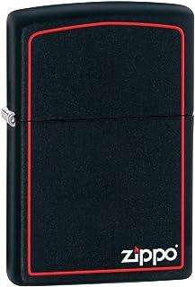 ZIPPO ジッポー 218ZB Black Matte ブラックマット つや消し ZIPPOロゴ FULL SIZE ZIPPO LIGHTER ジッポライター [並行輸入品]