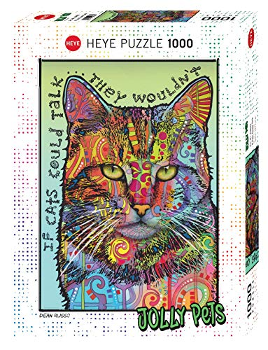 Heye Puzzle- If Cats Could Talk Standard 1000 Pezzi, Multicolore, 29893