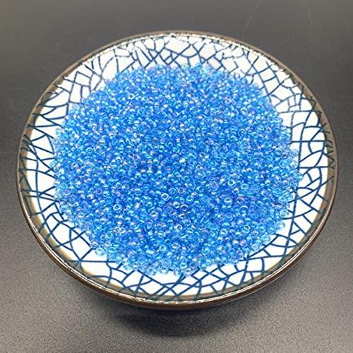 Nuevo 2/3 / 4mm encanto de cuentas de semillas de vidrio checo DIY pulsera collar cuentas para hacer joyería DIY pendientes collar accesorios