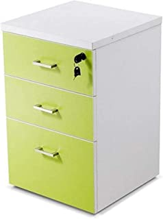 XHMCDZ Drawer Organizers Office Cabinets, Racks & Shelves Office Vertical Files with Anti-theft Lock Fully Assembled, Mult...