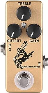 Overdrive Effect Pedal,MOSKY Golden Horse Guitar Full Metal Shell True Bypass
