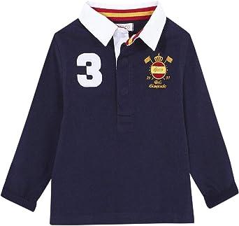 Gocco Polo España Azul Marino Undershirt para Niños