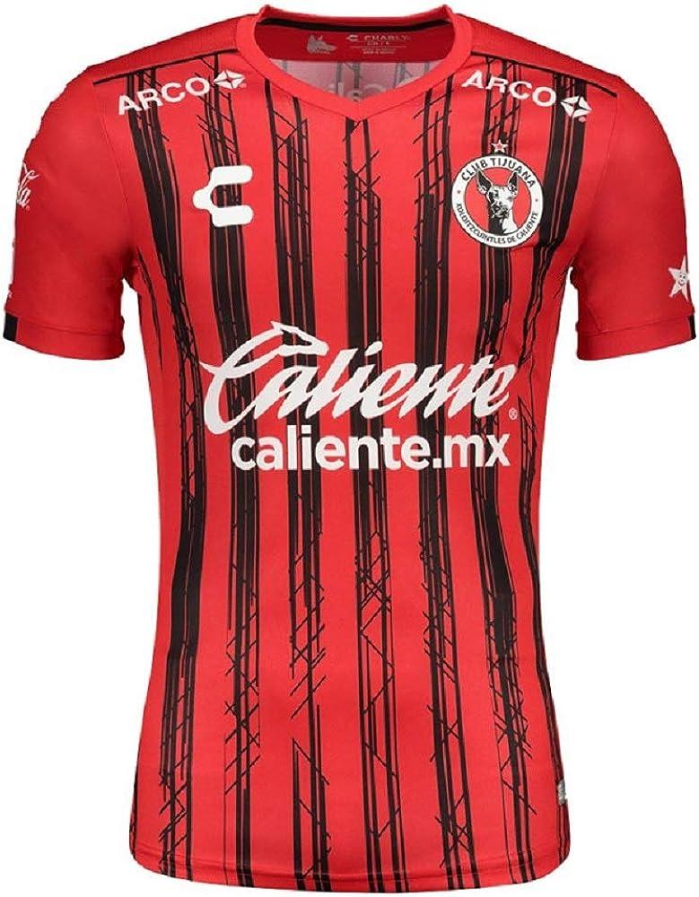 Xolos De Tijuana Men/'s Soccer Jersey Futbol cloths Black Color Jersey