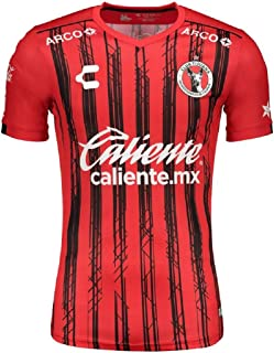 Xolos Tijuana Men's Home Soccer Jersey- 19/20 (L) Red/Black
