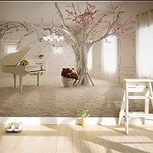 Knncch Arte Moderno Rama De Árbol De Piano Foto Wallpaper Comedor Sala De Estar Sofá Telón De Fondo Pintura De Pared Mural De Pared 3D Papel De Parede-350X250Cm