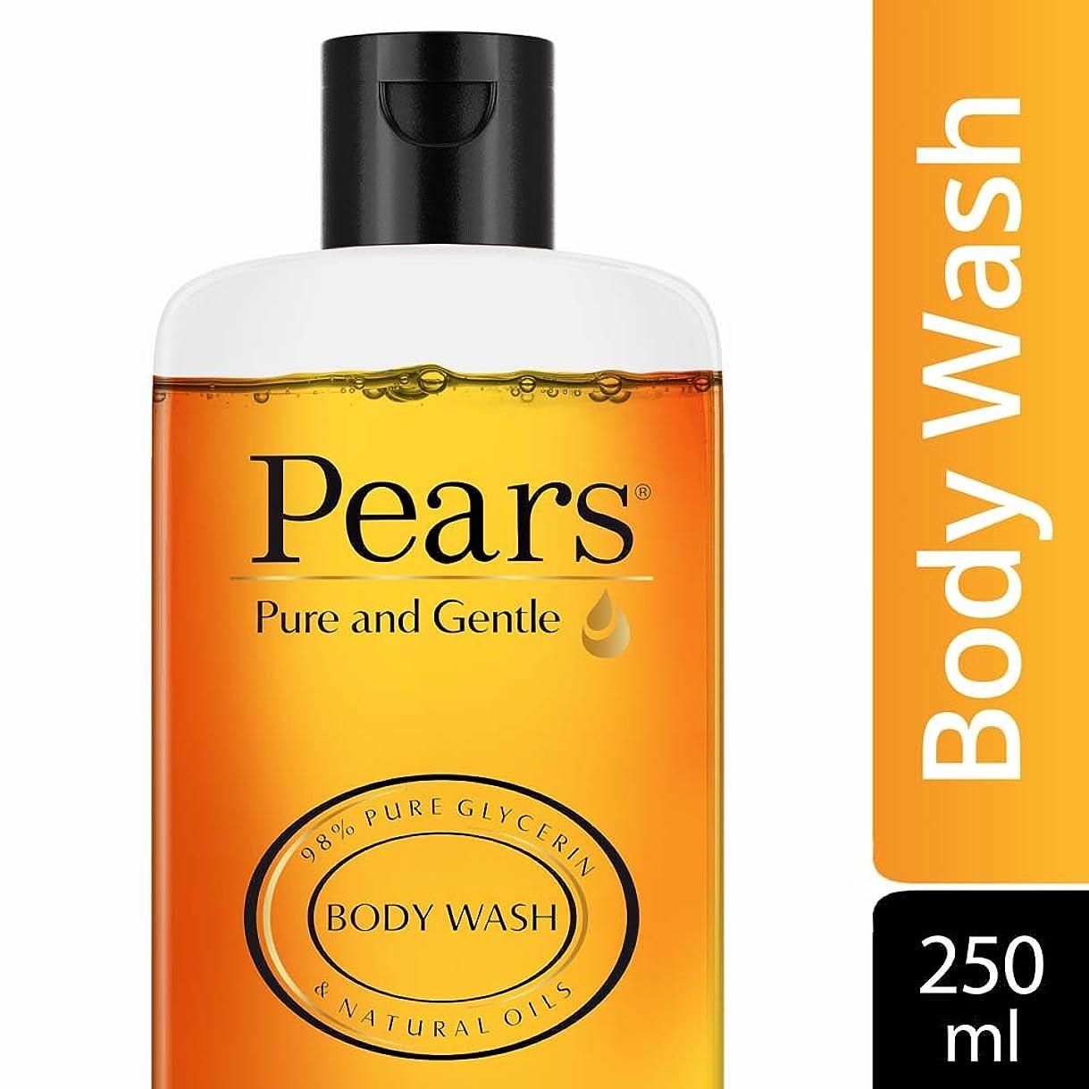 黒くするペチコートインタフェースPears Pure and Gentle Shower Gel, 250ml
