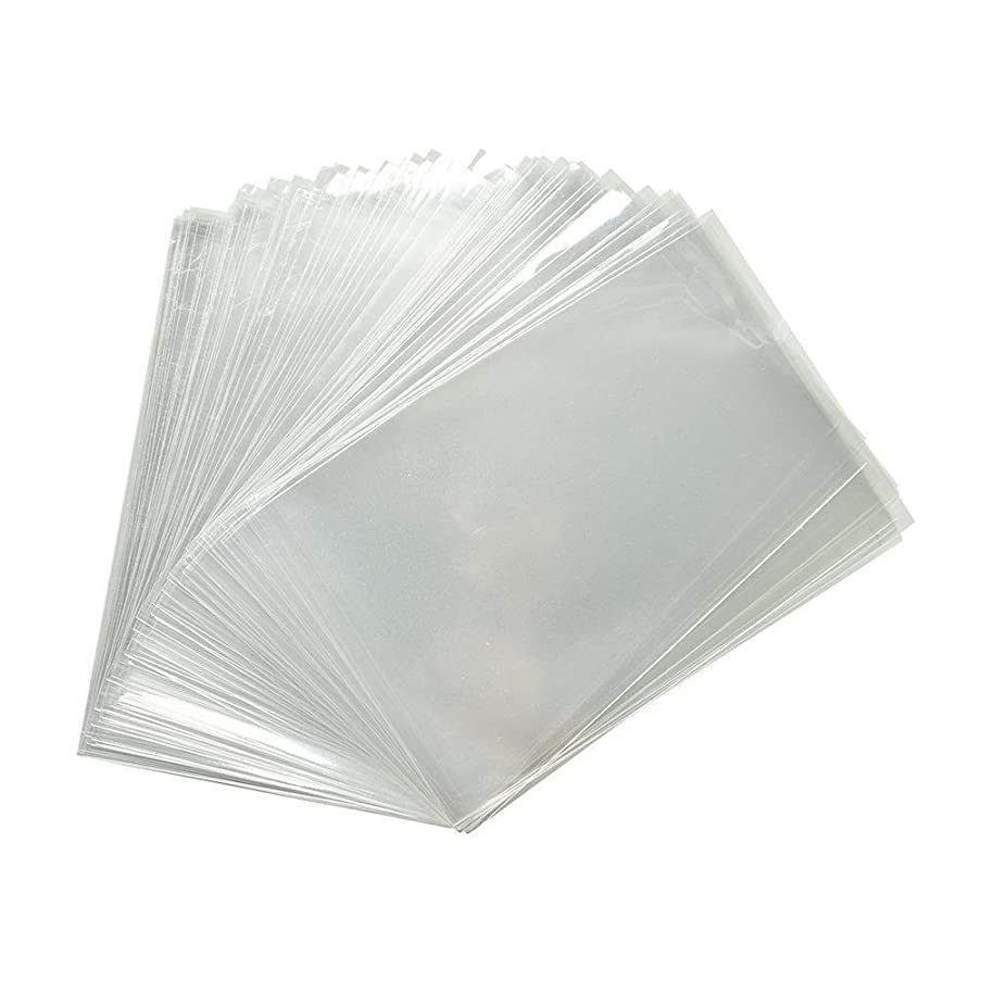 100 Pcs 14x14 Clear Cellophane Bags - 1.2 MIL Glossy Cello Bag For Gifts, Food, Soap, Candles and Bakery Goods - By Priti Parti