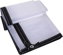 Dekzeil Waterdicht Heavy Duty Plastic Sheeting, Windscherm Regendicht Zonbescherming Licht Transmissie Warm Houden Anti Pu...