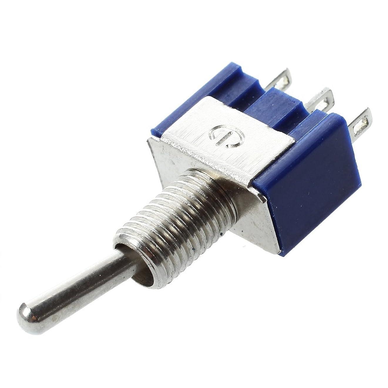 メリーラショナルハブブHommy AC 125V 6A単極双投SPDTオン/オントグルスイッチ5個