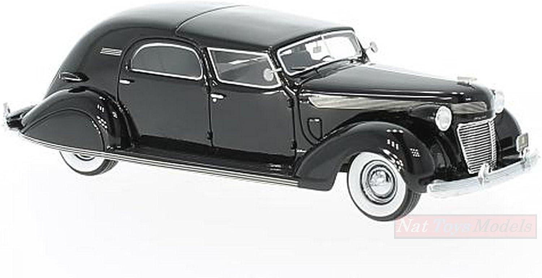 Nuevos productos de artículos novedosos. NEO SCALE MODELS NEO46766 CHRYSLER IMPERIAL C-15 BARON CITY Coche Coche Coche 1937 negro 1 43  precios razonables