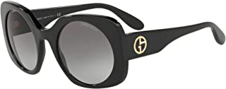 Giorgio Armani Wayfarer Sunglasses for Woman, Grey, AR8110 501711 52