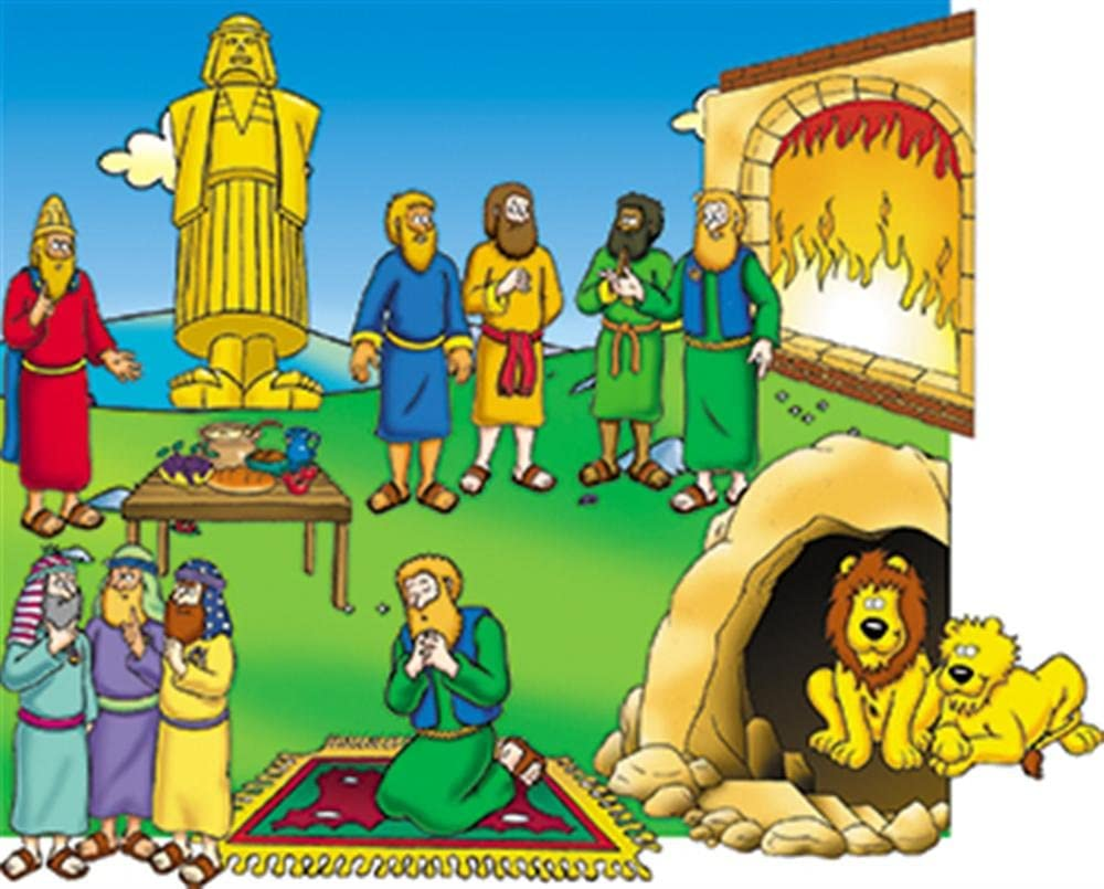 Little Folk Visuals Beginners Bible: Gifts Flannel Charlotte Mall Precut Daniel Felt