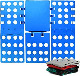Nifogo Organizador de armarios, Camiseta Carpeta | tamaño Normal, 20-Pack (Azul)