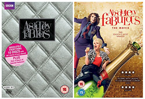 Absolutely Fabulous: The Movie + Absolutely Fabulous Series 1-5: Absolutely Everything Box Set + The Last Shout + The Gay Special + White Box Christmas Special + Extras