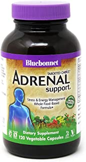 Bluebonnet Nutrition Targeted Choice Adrenal Support, 120 Count