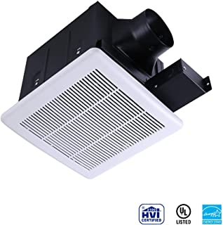 Ultra Quiet Ventilation Fan Bathroom Exhaust Fan (70CFM/0.3Sone) with 4 Inch Duct Size