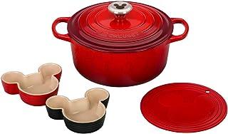 Le Creuset Stoneware 5 Piece Mickey Mouse Set