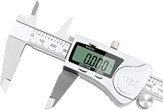 Digital Caliper 12 inch/300 mm Electronic Vernier Calipers IP54 Water Resistant Measuring Tool Waterproof Stainless Steel Caliper with Auto-off Function Extra Large LCD Screen Display by RUBEDER