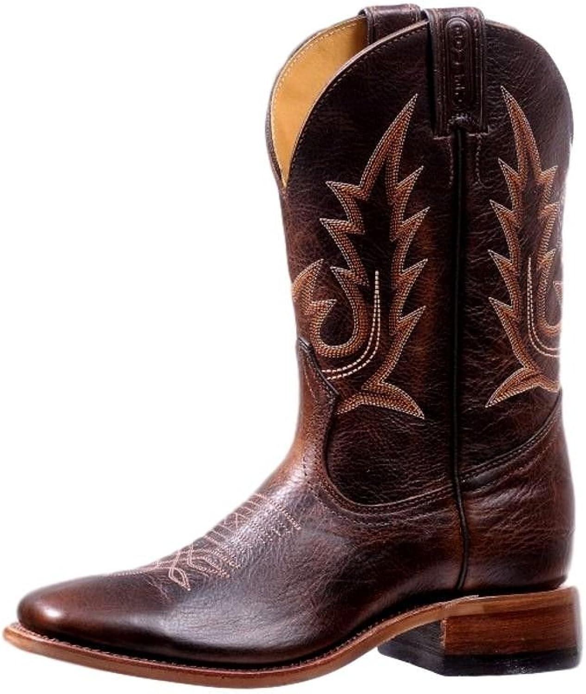 Boulet Western Boots Womens Challenger Realflex Sole Damiana Moka 7235