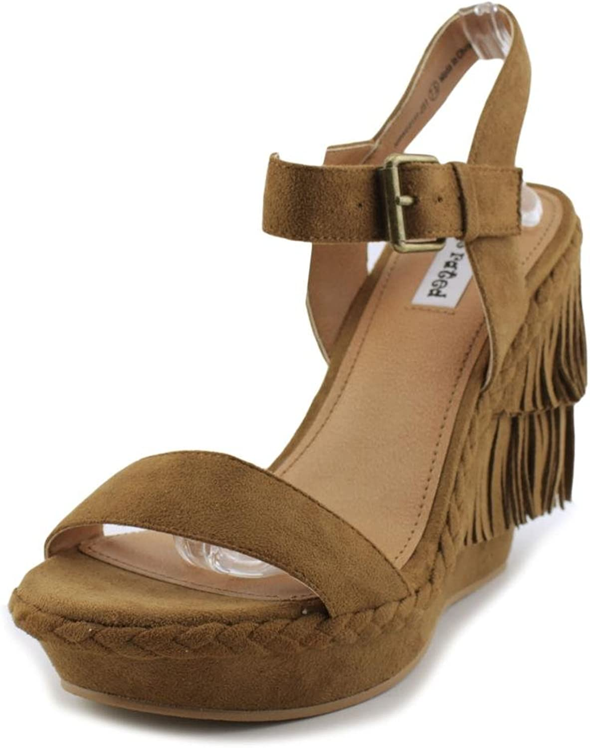 Not Rated Womens Roaring Ruby Wedge Sandal