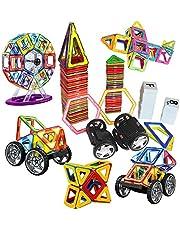 مجموعة مكعبات البناء، لعبة مكعبات البناء للاولاد، لعبة مكعبات بناء للاطفال، مكعبات بناء للاطفال، مكعبات بناء للاطفال للاولاد والبنات الصغار، 139 قطعة
