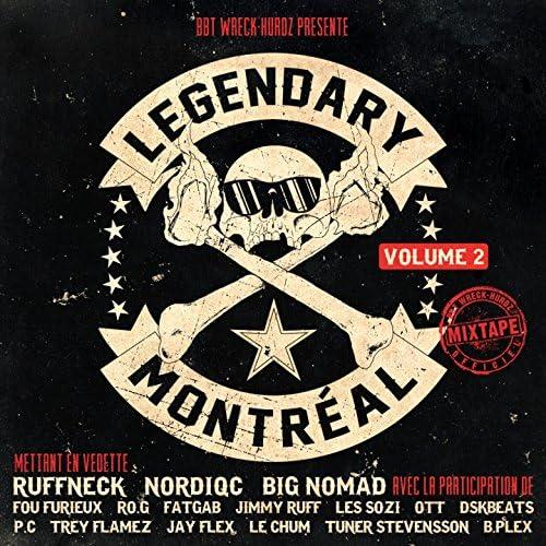 Legendary feat. Ruffneck, Big Nomad & Nordiqc