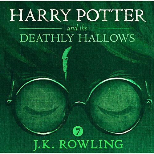 Harry Potter and the Deathly Hallows, Book 7 audiobook cover art