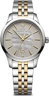 Victorinox - Alliance Reloj para Mujer Analógico de Cuarzo Suizo con Brazalete de Acero Inoxidable V241753