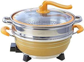 Dortoir multifonctionnel poêle électrique pour la cuisson NO-Stick Electric Wok Ménage Petit pot électrique Étudiant Elect...