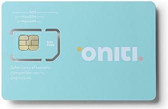 ONITI Tarjeta SIM (Duplicado)