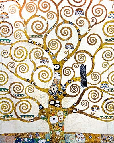 1art1 Gustav Klimt - Der Lebensbaum (Detail) Poster Kunstdruck 50 x 40 cm