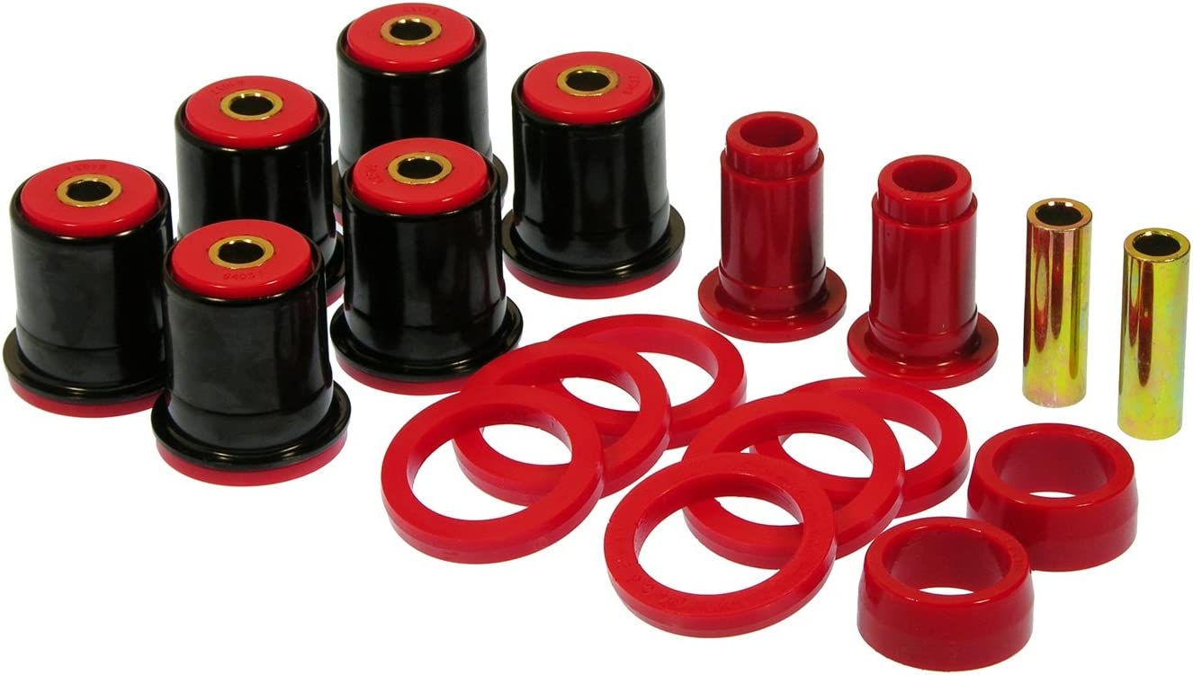 Prothane 7-314 specialty shop Bombing free shipping Red Rear Arm Kit Bushing Control