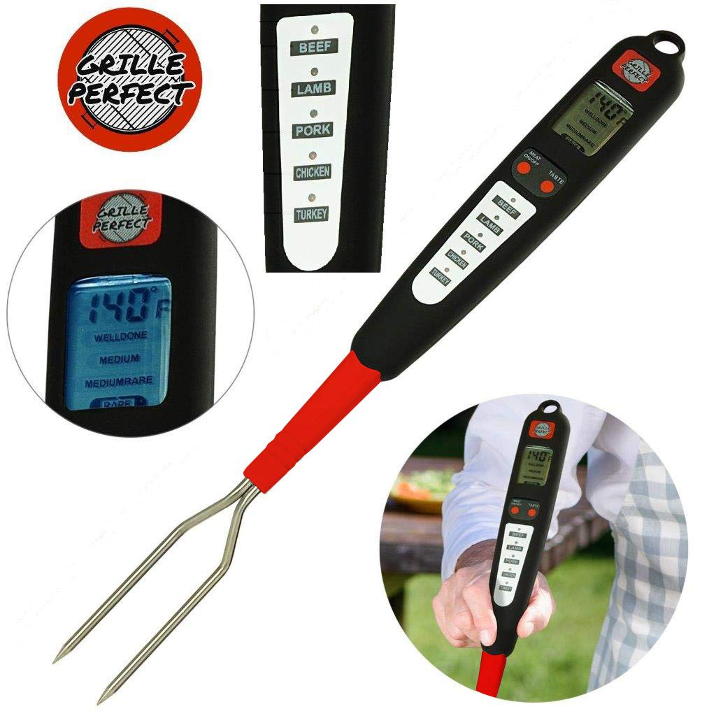 Grille Perfect Thermometer Grilling Barbecue