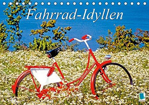 Fahrrad-Idyllen (Tischkalender 2019 DIN A5 quer): Schöne Fahrräder und skurrile Situationen aus der ganzen Welt (Monatskalender, 14 Seiten ) (CALVENDO Spass)