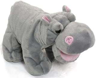 WISHPETS Stuffed Animal - Soft Plush Toy for Kids - Standing Hippo with Open Mouth