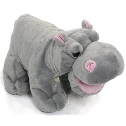 Wishpets Stuffed Animal - Soft Plush Toy for Kids - Standing Hippo with  Open Mouth 6b16854f97ab