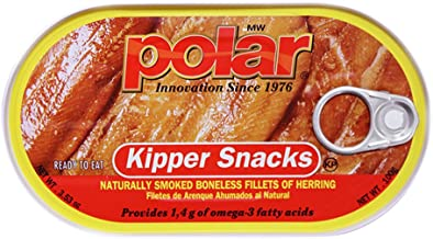 MW Polar Herring, Kipper Snacks, 3.53-Ounce (Pack of 18)