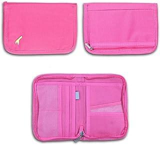 LnLyin Travel Wallet Ticket Passport Holder Card Organizer Phone Pouch Cash Hand Bag