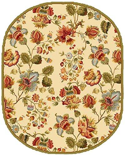 Safavieh Chelsea Collection hk331b Hand-Hooked Braun Premium Wolle Bereich Teppich Chinesisch 4' Diameter Elfenbeinfarben