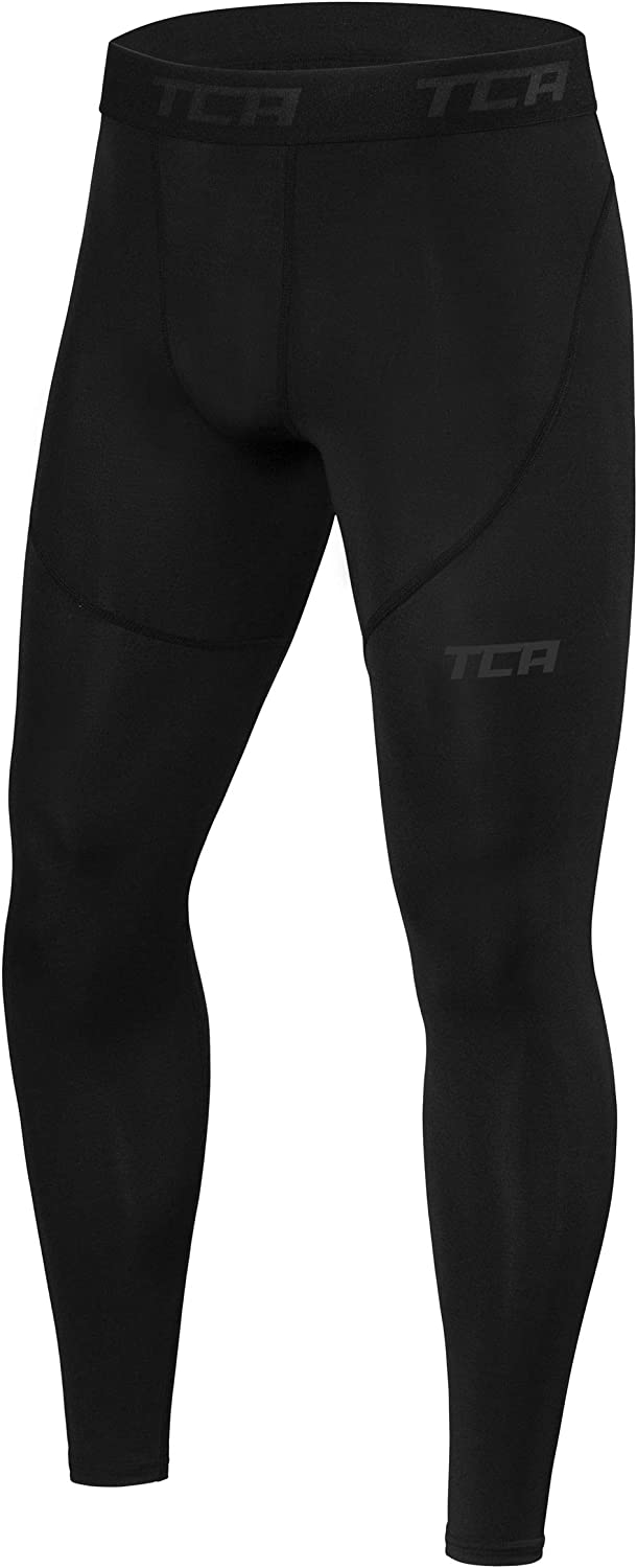 TCA Boys' Youth and Men's Performance supreme Compression Recommended Leggings Pro T