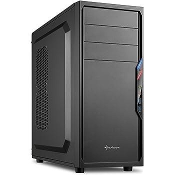 Sharkoon VS4-V PC-Gehäuse (2x USB 3.0, ATX) schwarz